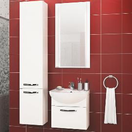 Мебель для маленькой ванной комнаты - красивая и функциональная