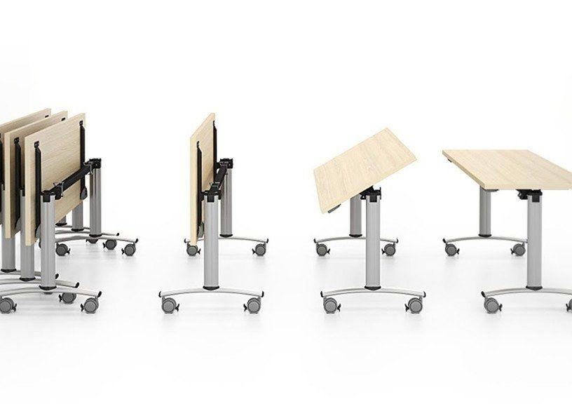 Складные офисные столы: мгновенная трансформация конференц-зала
