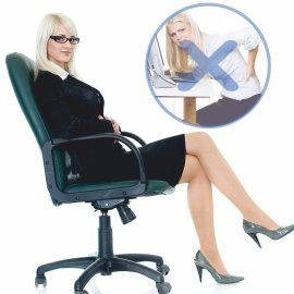Зачем вам ортопедическое кресло для работы за компьютером?