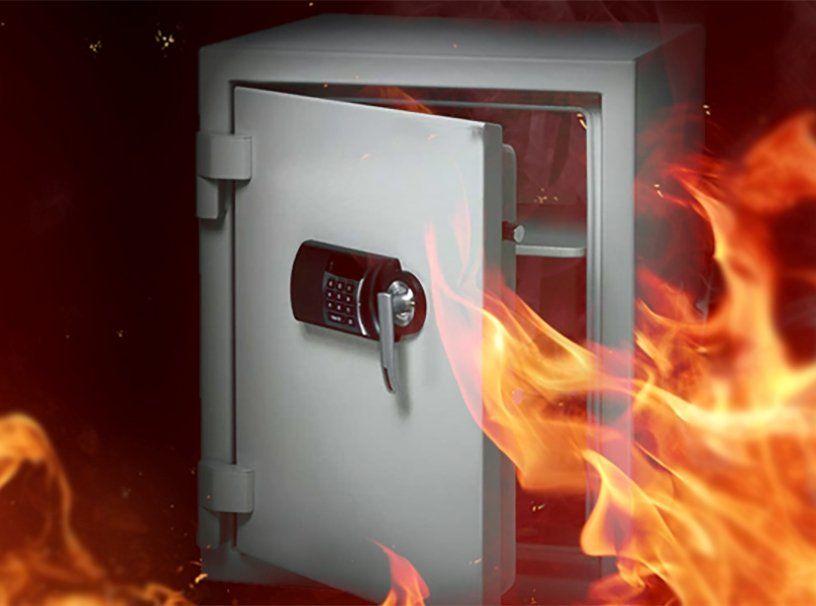 Огнестойкость сейфов: классы