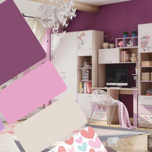 Сочетание цветов в детской комнате: 6 примеров в интерьере