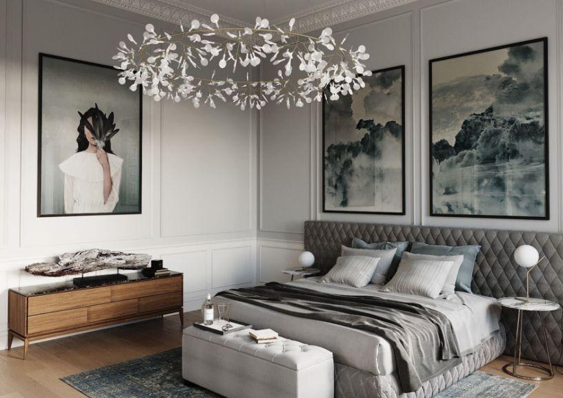Освещение в спальне: 5 моментов организации света