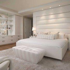 Спальня в белых тонах: совершенство белой мебели в интерьере