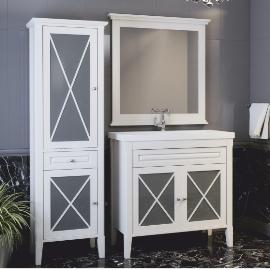 Мебель для ванной Прованс, которая заставит вас влюбиться в этот стиль