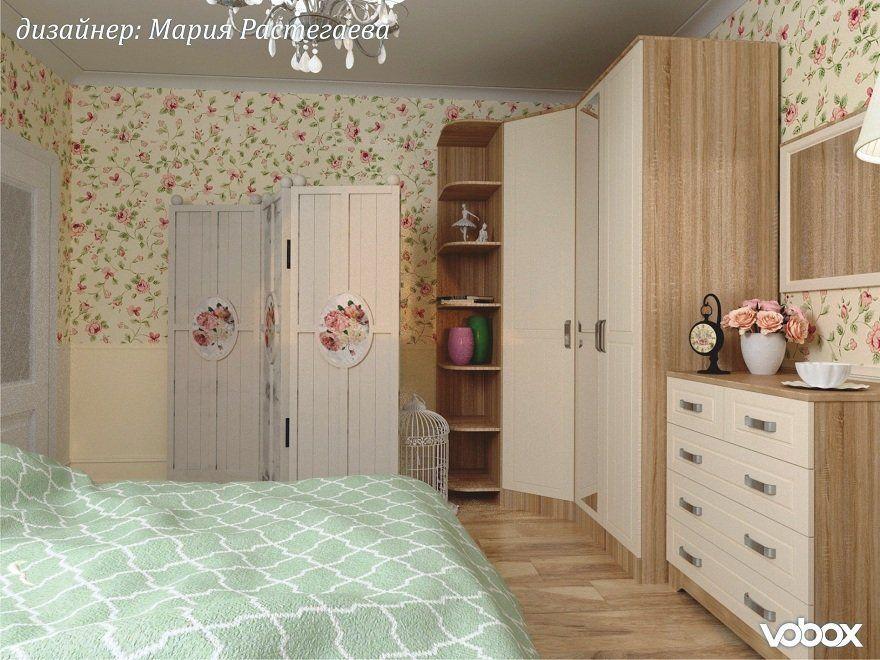 Спальня в стиле Прованс: интерьер, который можно повторить