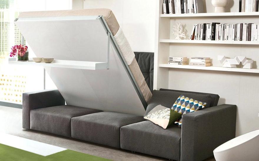 Кровать-трансформер: верное решение для малогабаритных квартир