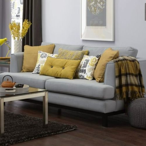 Серый диван в интерьере: 10 простых идей стильного декора