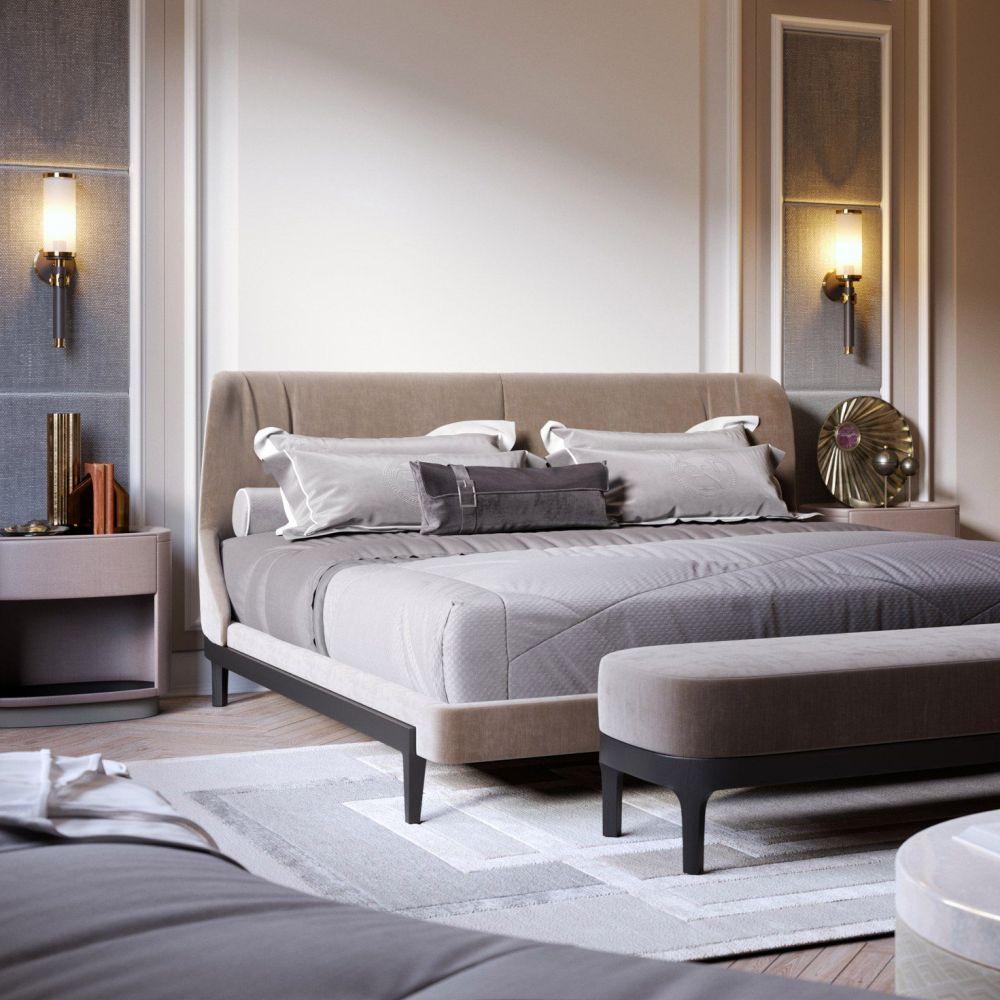 На какой высоте вешать бра над кроватью: рекомендации