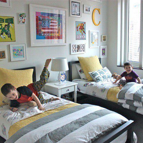 Комната для двух мальчиков: 6 полезных советов и идеи дизайна