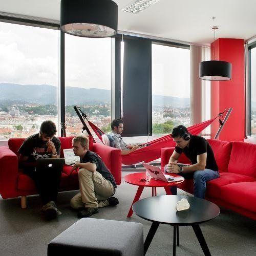 Лаунж зона в офисе: или как повысить эффективность своих сотрудников