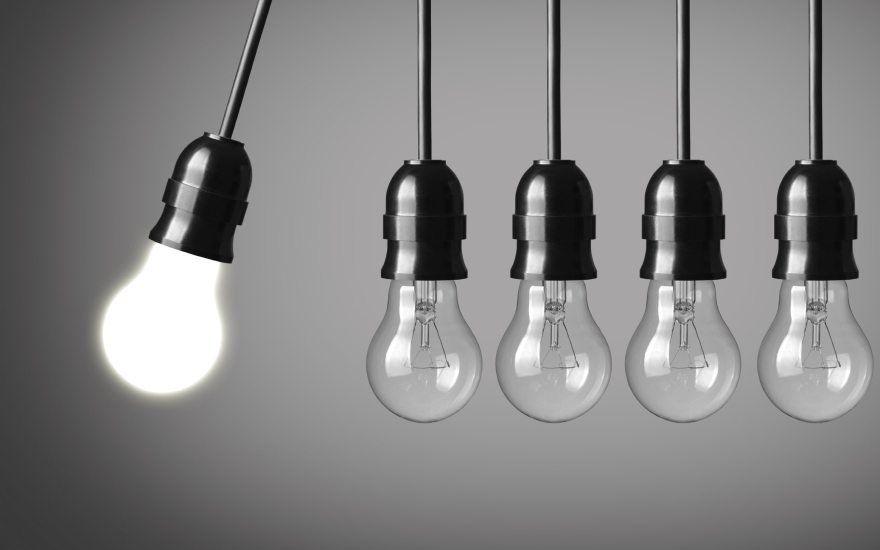 Мощность светодиодных ламп и количество света: таблица