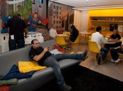Комната отдыха в офисе: рациональный подход к организации