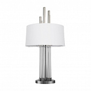 Лампа настольная Delight Collection Table lamp KM0921T nickel